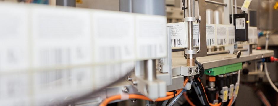 Weiße & Partner Business Consultants Prozessoptimierung Etikettiermaschine